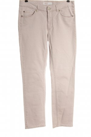 Angels Jeans coupe-droite blanc cassé style décontracté