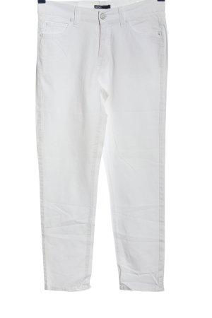 Angels Jeans a gamba dritta bianco stile casual