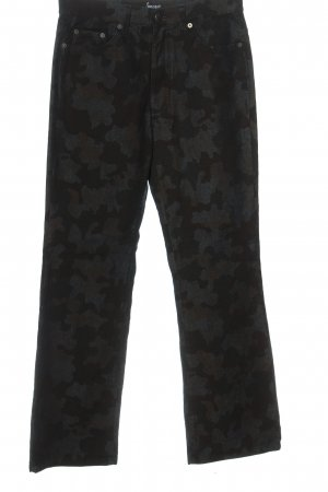 Angels Straight Leg Jeans brown-light grey allover print casual look