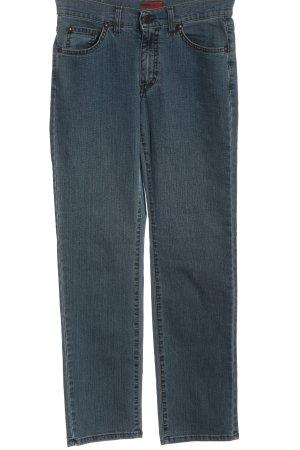 Angels Jeans coupe-droite bleu style décontracté