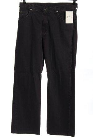 Angels Jeans coupe-droite noir style décontracté