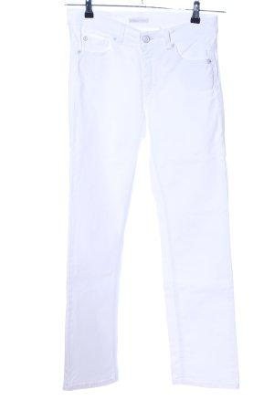 Angels Jeans met rechte pijpen wit casual uitstraling