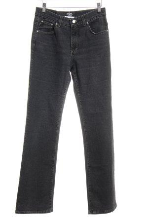 Angels Jeans met rechte pijpen donkergrijs casual uitstraling