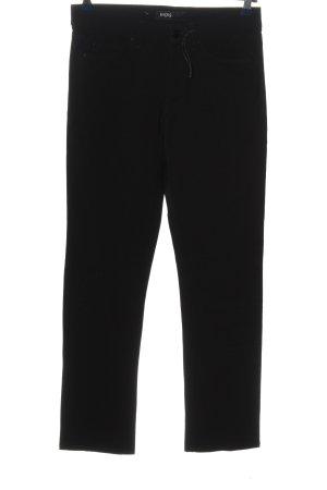 Angels Jeansy z prostymi nogawkami czarny W stylu casual