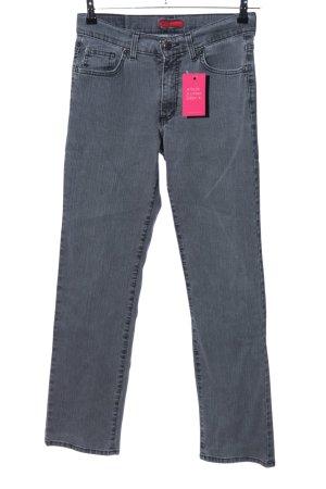 Angels Jeans coupe-droite gris clair style décontracté