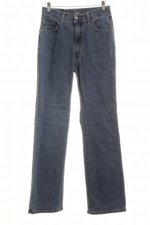 "Angels Straight Leg Jeans ""GUCCI"" steel blue"