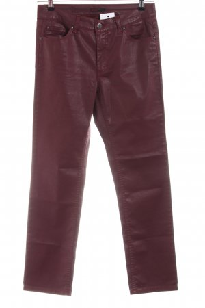Angels Stretch Trousers red extravagant style
