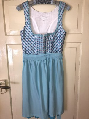 Angermaier Dirndl light blue-baby blue