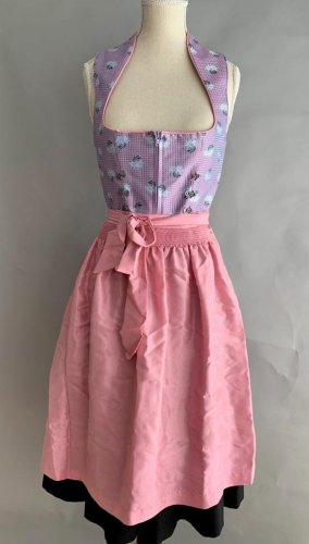 Angermaier Dirndl black-pink