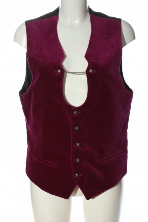 Angermaier Knitted Vest lilac-black casual look