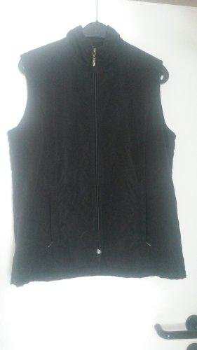 Pikowana kamizelka czarny