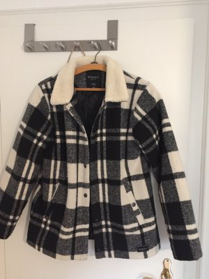 Iriedaily Veste en laine noir-blanc