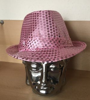 Panama Hat pink-light pink cotton