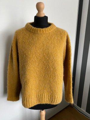 HUGO Hugo Boss Knitted Sweater ocher