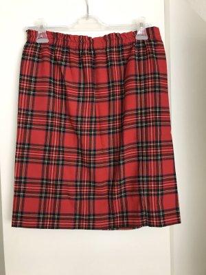 Vintage Skater Skirt red