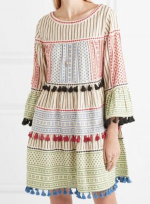 Dodo Bar Or Vestido Hippie multicolor