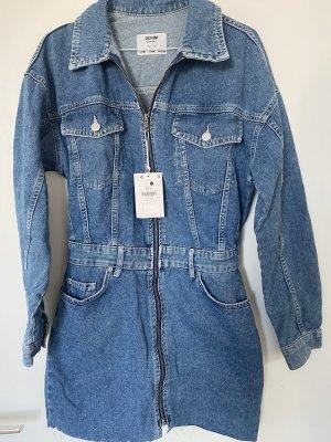 Bershka Robe en jean bleu
