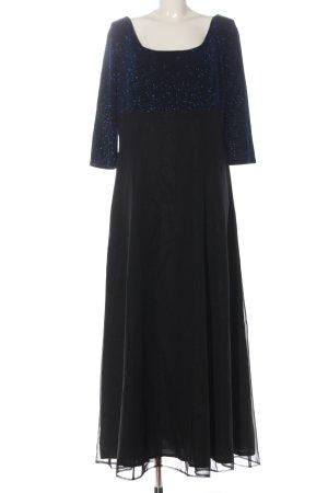 Angie Robe de soirée noir-bleu élégant