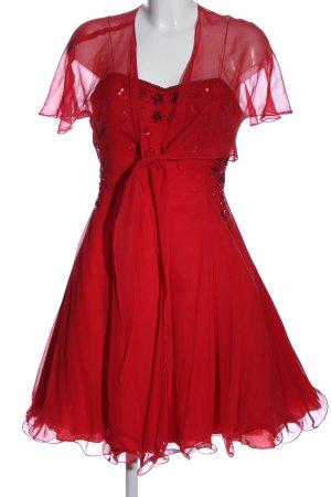 Angie Robe de bal rouge élégant