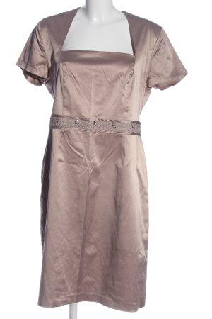 Angie Robe à manches courtes rose style décontracté