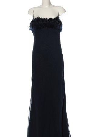 Angie Robe longue bleu foncé style extravagant