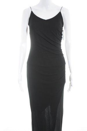 Angie Pinafore dress black elegant