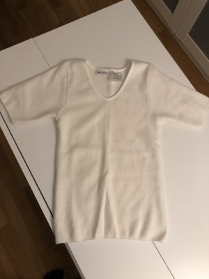 Angora Shirt, gr S, wollweiss