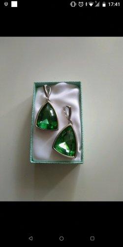 Pierre Lang Pendente argento-verde