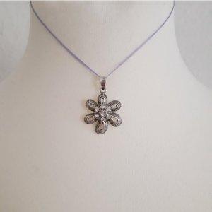 925er Silber Pendente grigio chiaro-argento