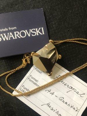 Swarovski Colgante color plata-nude