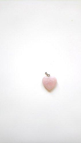 Pendente argento-rosa pallido