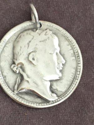Juwelier Pendentif gris clair métal