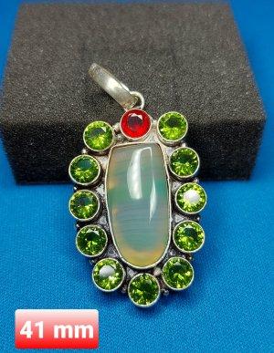SmD Hanger zilver-groen