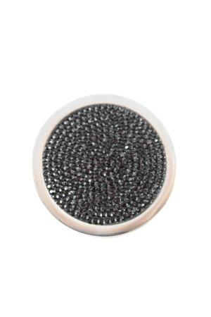 Hanger zwart-zilver elegant