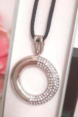 Anhänger Silber Strass Ring modeschmuck