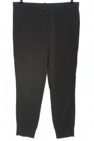 Ania Schierholt Jersey Pants black business style