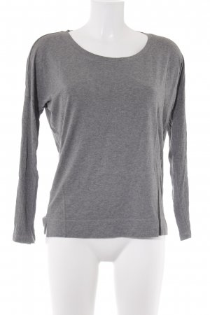 Ania Schierholt Sweat Shirt light grey-grey color gradient casual look