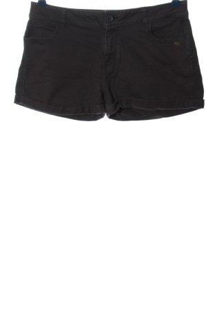 Animal Hot pants zwart casual uitstraling