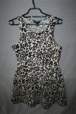 Animal / Leo Minikleid von H&M in Gr. M - wie neu