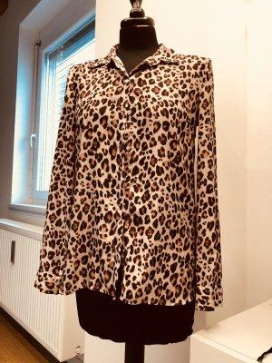 Animalprint Bluse Leopardenmuster