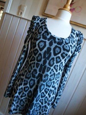 Best emilie Shirt Tunic grey-dark grey cotton