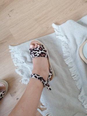 Plateauzool Sandalen met Hoge Hakken veelkleurig