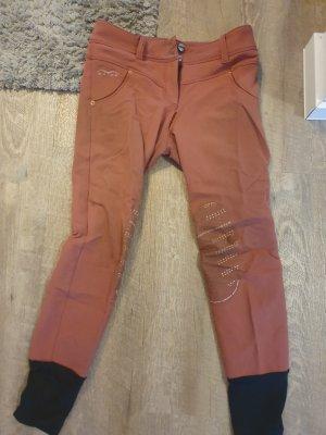 Pantalone da equitazione rosa antico