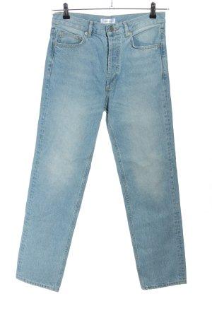 Anine Bing Jeans boyfriend blu stile casual