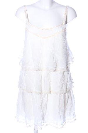 Anine Bing Chiffon jurk wit casual uitstraling