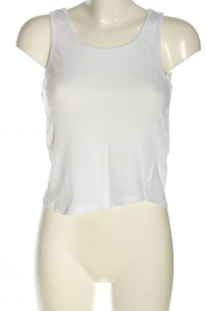 Anine Bing Cropped Top white casual look