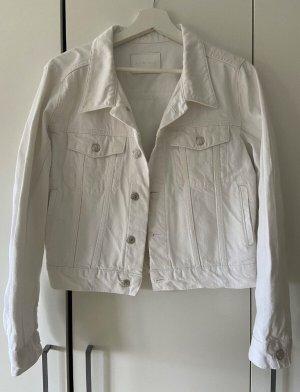 Anine Bing Jeansowa kurtka biały