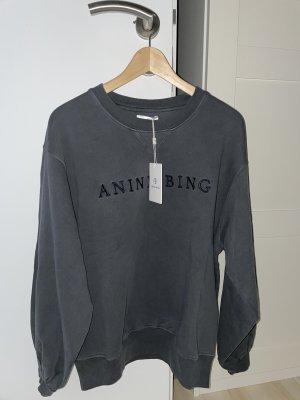 Anine Bing Jersey holgados gris