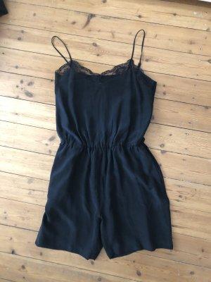 Anine Bing Jumpsuit Overall Kleid Silk