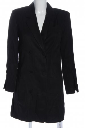 Anine Bing Long-Blazer schwarz Business-Look